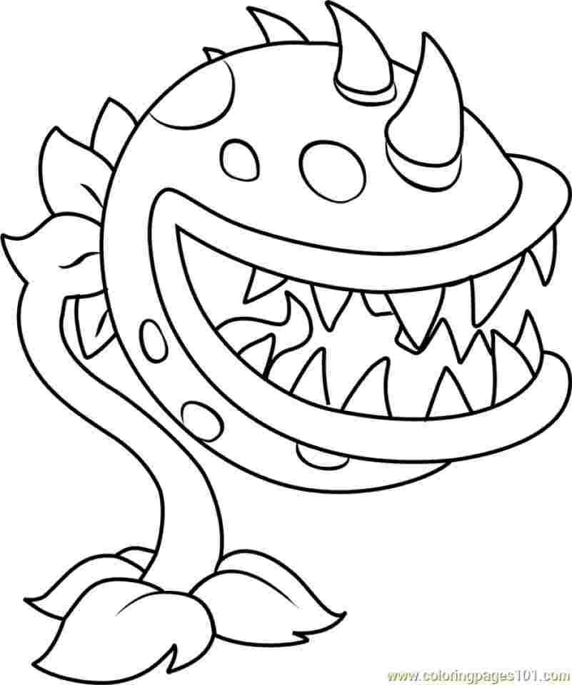 Coloring Festival Free Zombies Vs Plants Coloring Pages More