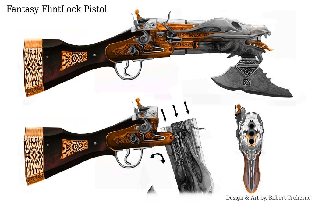 fantasy pistols - Google Search   Fantasy guns   Pinterest ...