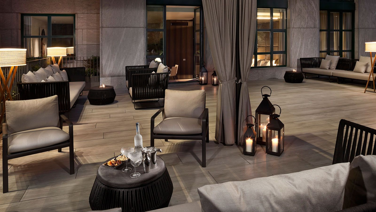 Kettal Projects Contract Furniture Milan Hotel Outdoor