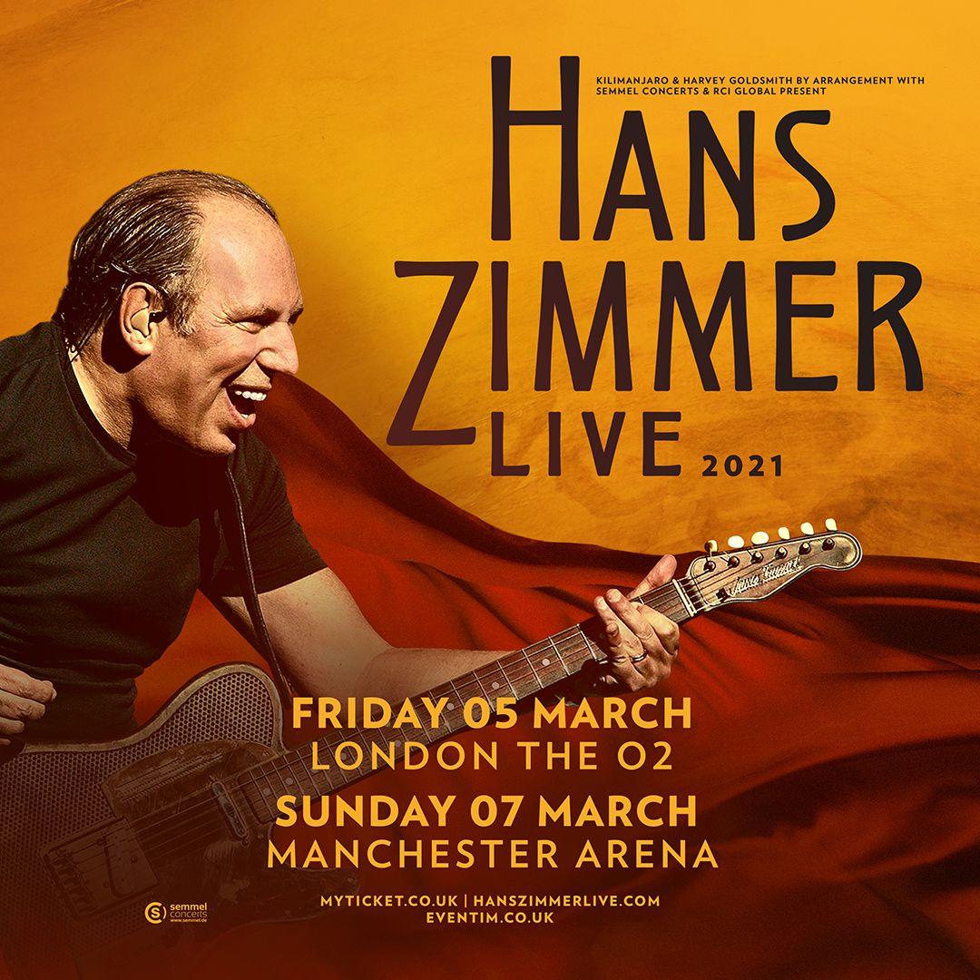 Hans Zimmer in 2020 Hans zimmer, New shows, Vip tickets