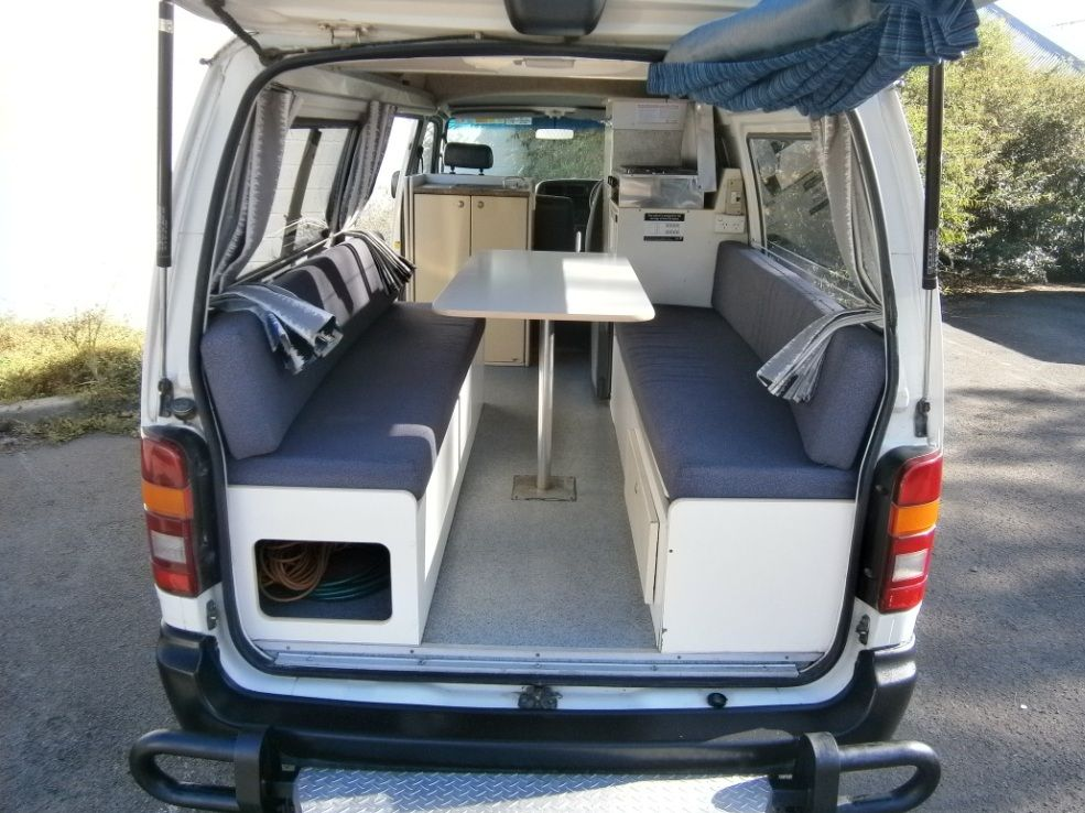 Pin by Michelle Kathryn on Camper van interior Toyota