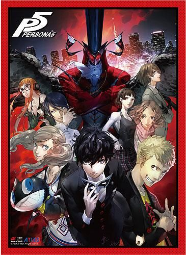 Photo of Persona 5 – Key Art High-End Wall Scroll [PreOrders SoldOUT]