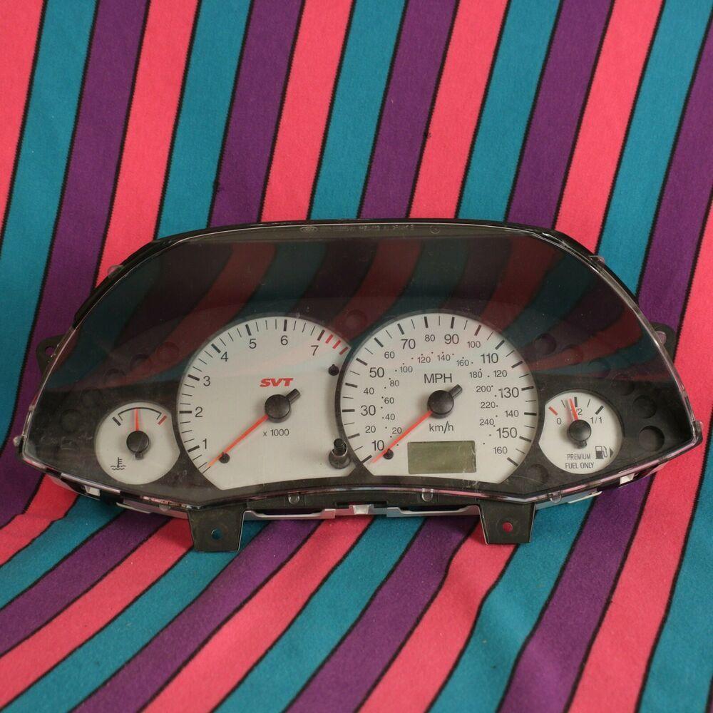 02 04 Ford Focus Svt Speedometer Cluster 02 03 04 2002 2003 2004