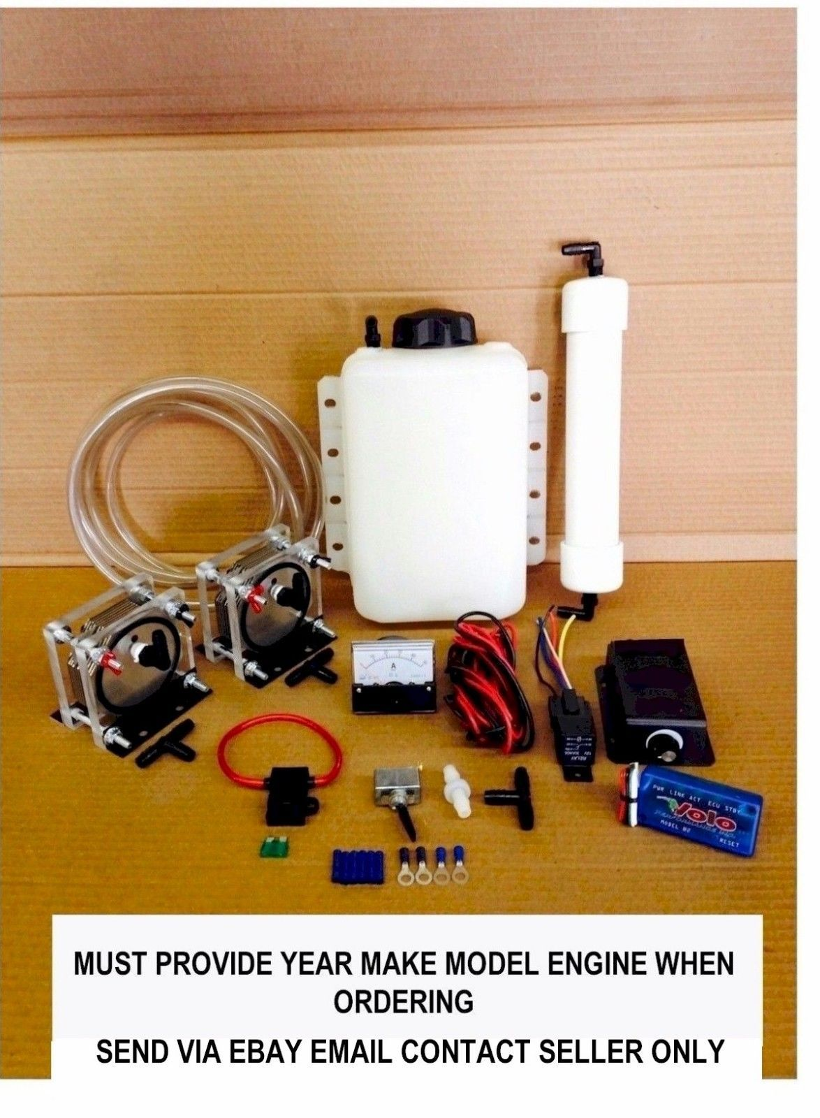Details about Better Fuel Hydrogen HHO generator kit for cars, dry