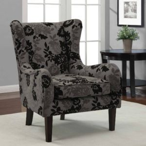 Fabric Covers For Wingback Chairs Gothic Cottage Grey