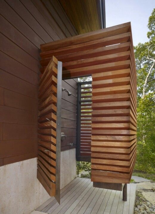 M Outdoor Shower Nice Graphic Solution For Privacy Screen Louvered  Boards Allow Air Flow But Give More Privacy