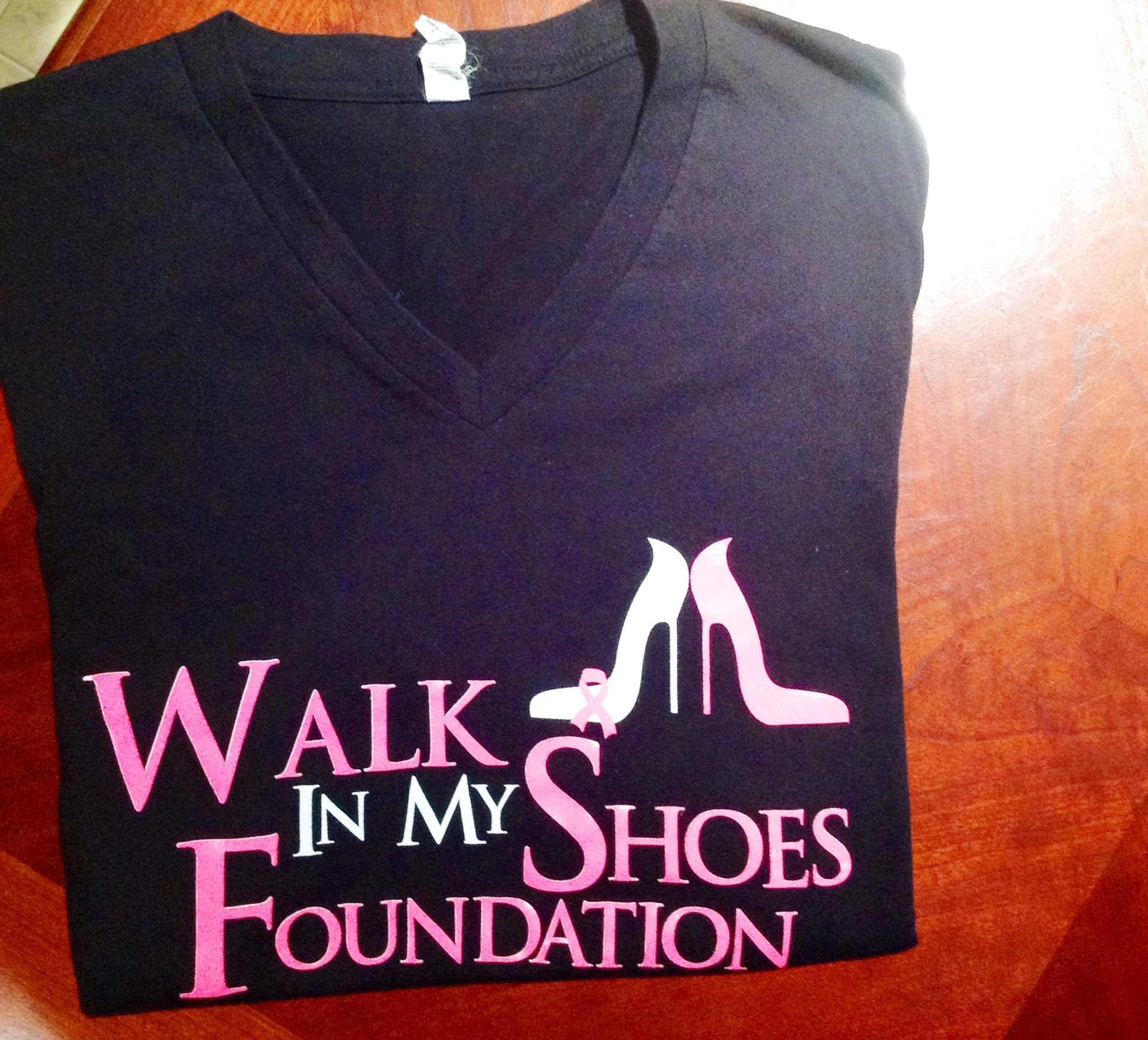 Free Giveaway: Walk In My Shoes Foundation Shirt   Enter Here: http://www.giveawaytab.com/mob.php?pageid=261974163972065