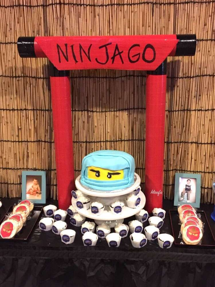 Lego Ninjago Ninja Birthday Party Ideas Ninjago Birthday Party