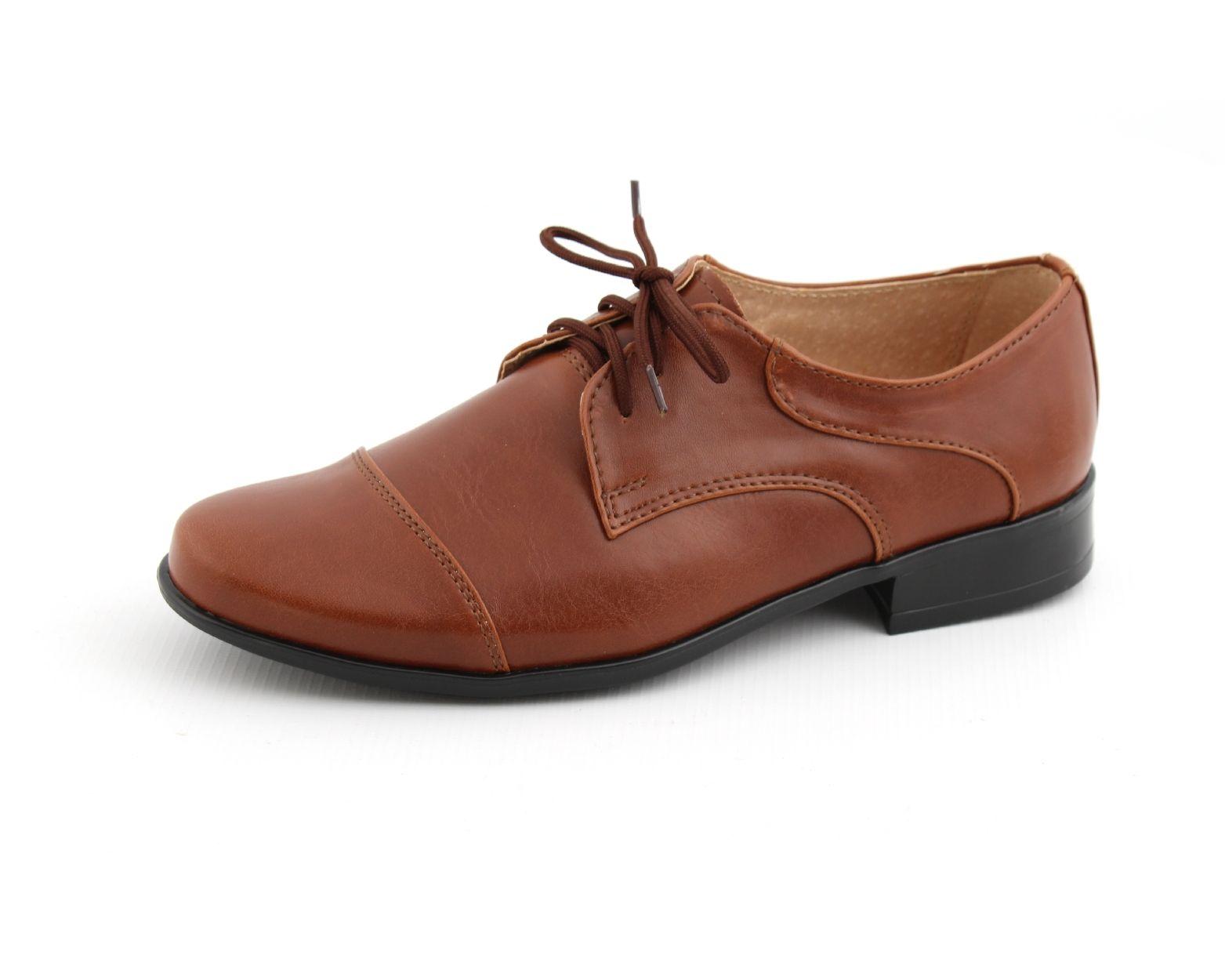 Brazowe Polbuty Dla Chlopca Dress Shoes Men Oxford Shoes Shoes