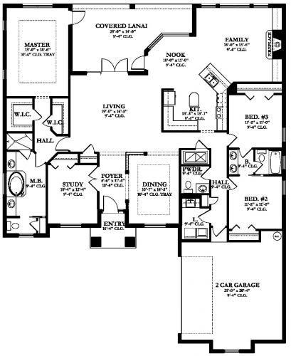 Floor Plans Blueprints Construction House Plans Building Plans House House Plans European House Plan