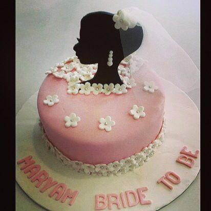 Bye Bye Single Life Bride Cake Ranacake Brides Cake Cake Cake Designs