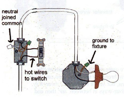 wiring diagram for installing a light switch Google