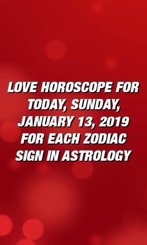 scorpio astrology january 13