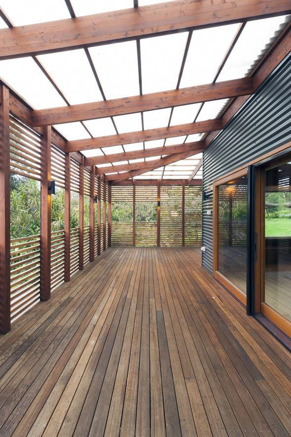 Photo of THE GARDEN HOUSE….The verandah reinstates the footprint and form of the origin… – Today P…