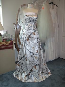 Wedding Dress..I think Jill would kill me haha