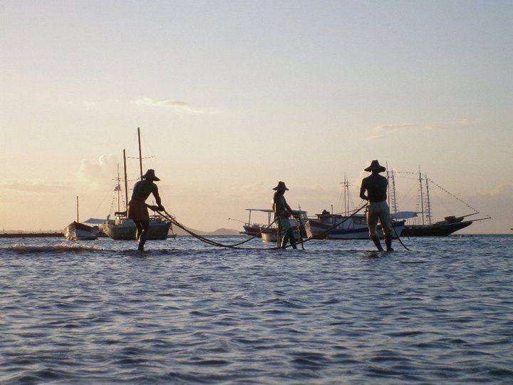 Munumento a los pescadores. Búzios, Brasil