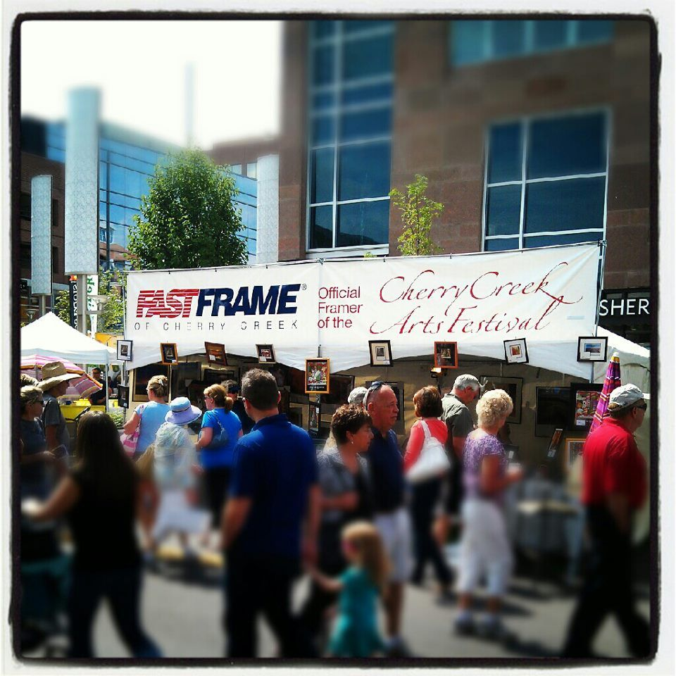 The 2013 Cherry Creek Arts Festival begins today! FastFrame of ...