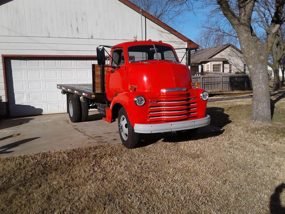 1948 Chevrolet COE 2 ton (Wichita, Ks) 32,500 Please call