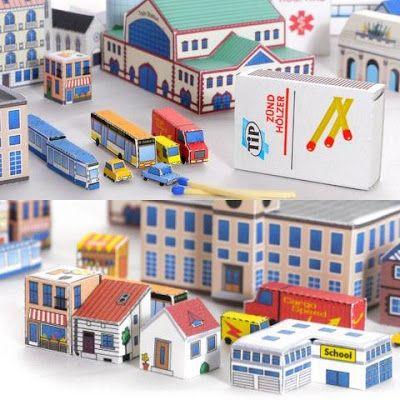 [+] Papercraft City Buildings