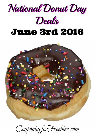 National Donut Day Deals - http://couponingforfreebies.com/national-donut-day-deals/