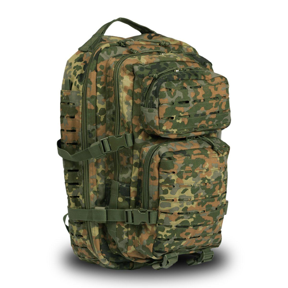 MANDRA Night Camo MOLLE RUCKSACK Assault Large Bag 36L BACKPACK Tactical Pack