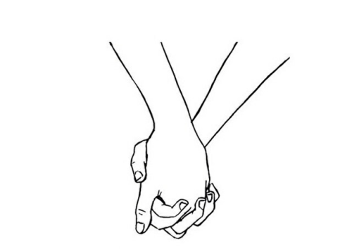 Holding Hands Tumblr Ecosia Hand Sketch How To Draw Hands Couple Holding Hands