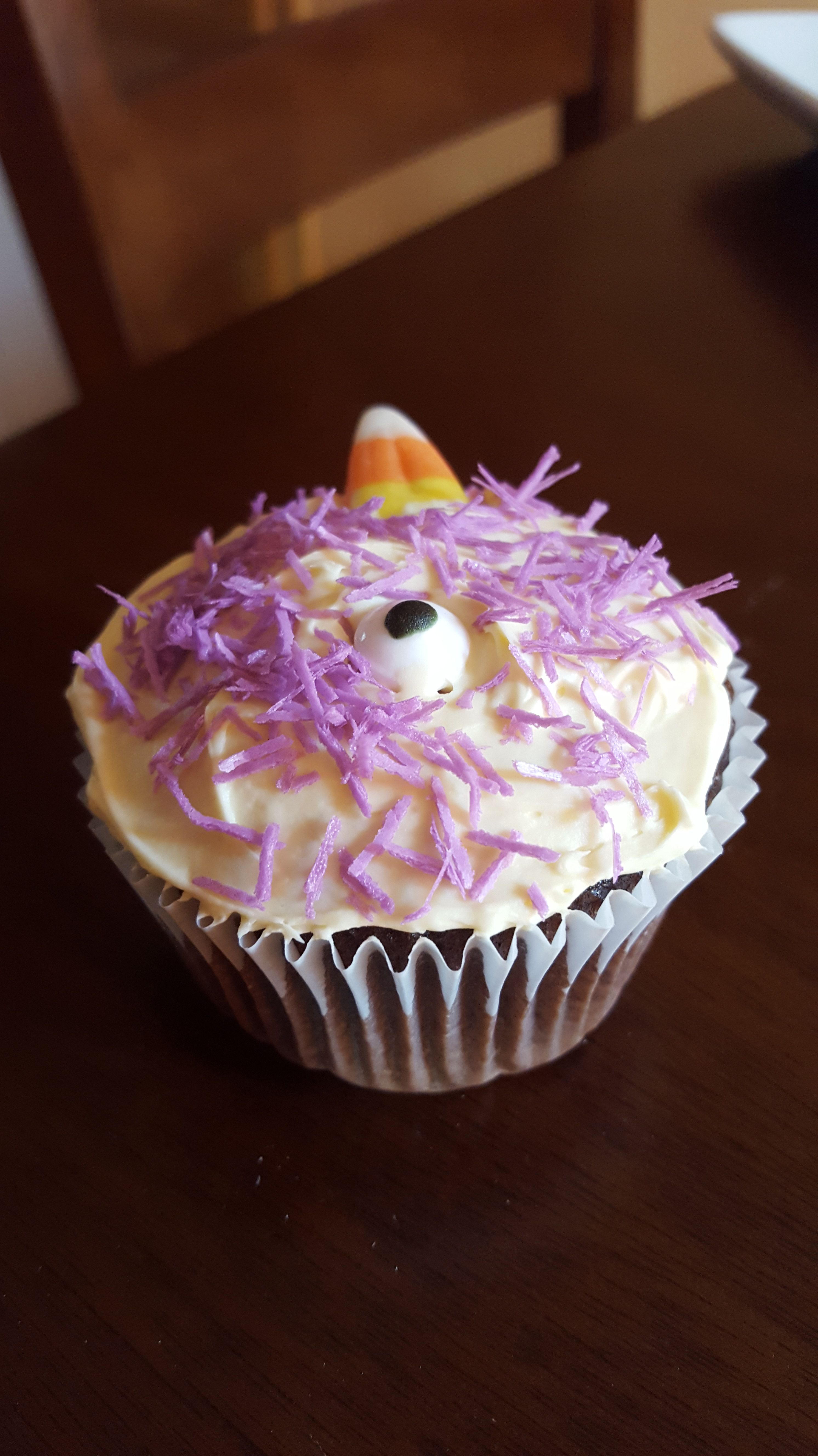 One-eyed, one-horned, flying, purple, people-eater cupcake ...