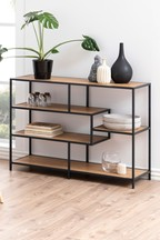 Seaford Wide Shelf By Actona With Images Shelves Stylish