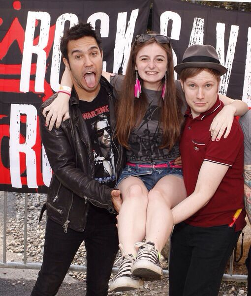 Pete and patrick at meet and greet fall out boy pinterest pete and patrick at meet and greet m4hsunfo Choice Image