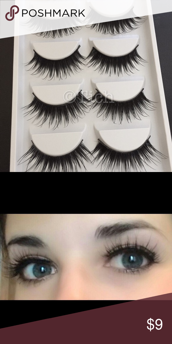 1dc5e830632 1 Pack Wispy Noir Fairy Lashes New in box. 5 pairs per pack. Synthetic