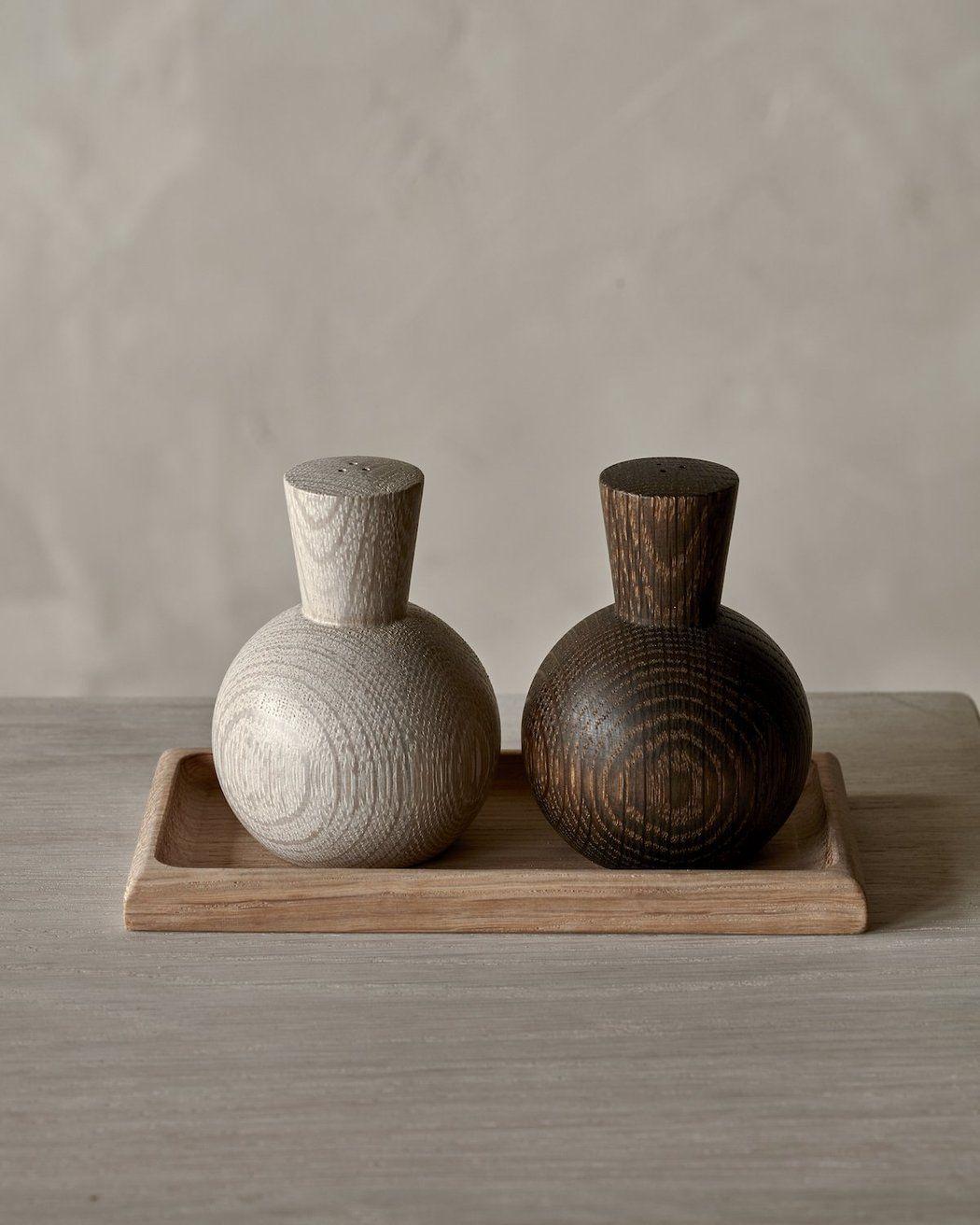 Natural Terracotta Salt Dish Spoon Set Kitchen Counter Small Salt Holder Cellar