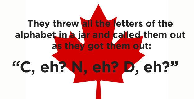 How Did They Name Canada Canada Jokes Canada Funny Canadian Humor