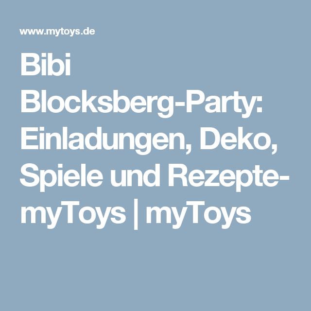 Deko Spiele bibi blocksberg einladungen deko spiele und rezepte mytoys