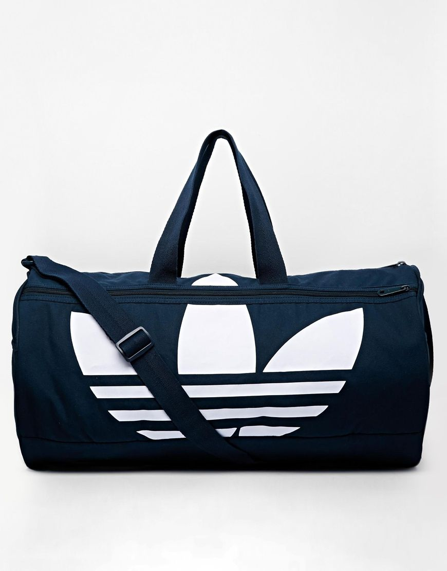 6f22c4a92f7 adidas Originals Canvas Duffle Bag | à la mode | Adidas duffle bag ...
