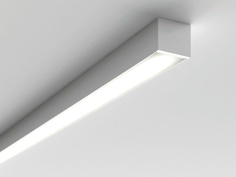 Lampada da soffitto a led a luce diretta microfile - Illuminazione bagno soffitto ...