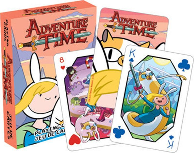 Adventure Time TV Series Gender Bender 52 Art Illustrated Playing Cards, SEALED