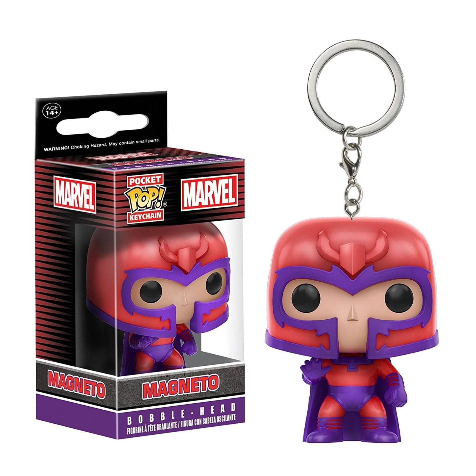 X-Men Magneto Pocket Pop Funko Key Chain Vinyl Action Figure New In Box
