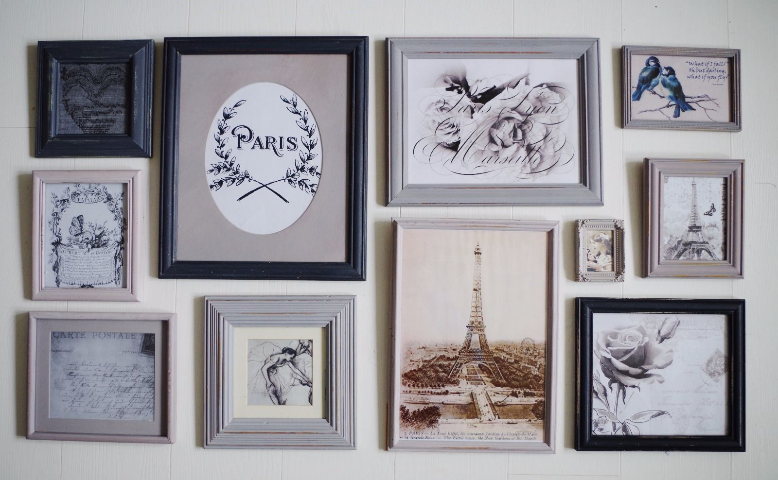 11 shabby chic shades of grey picture photo frames farrow ball 11 shabby chic shades of grey picture photo frames farrow ball feature wall jeuxipadfo Images