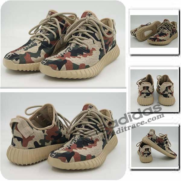 Adidas Yeezy Boost 350 Original Chaussure Homme Camouflage Grise-2 :aditrace