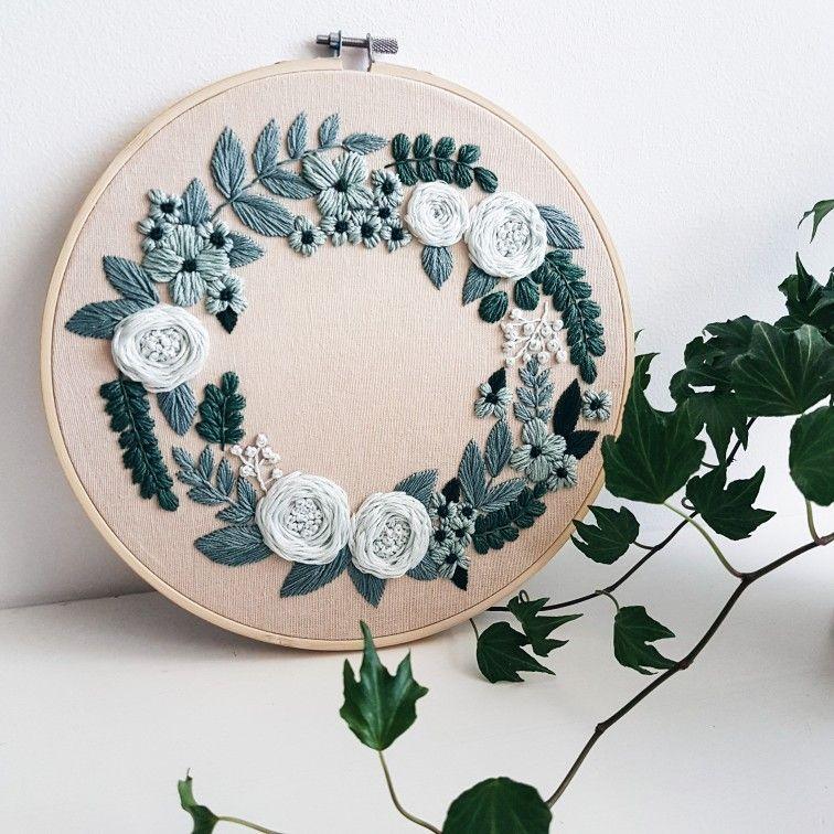Hand embroidery pattern embroidery pattern embroidery