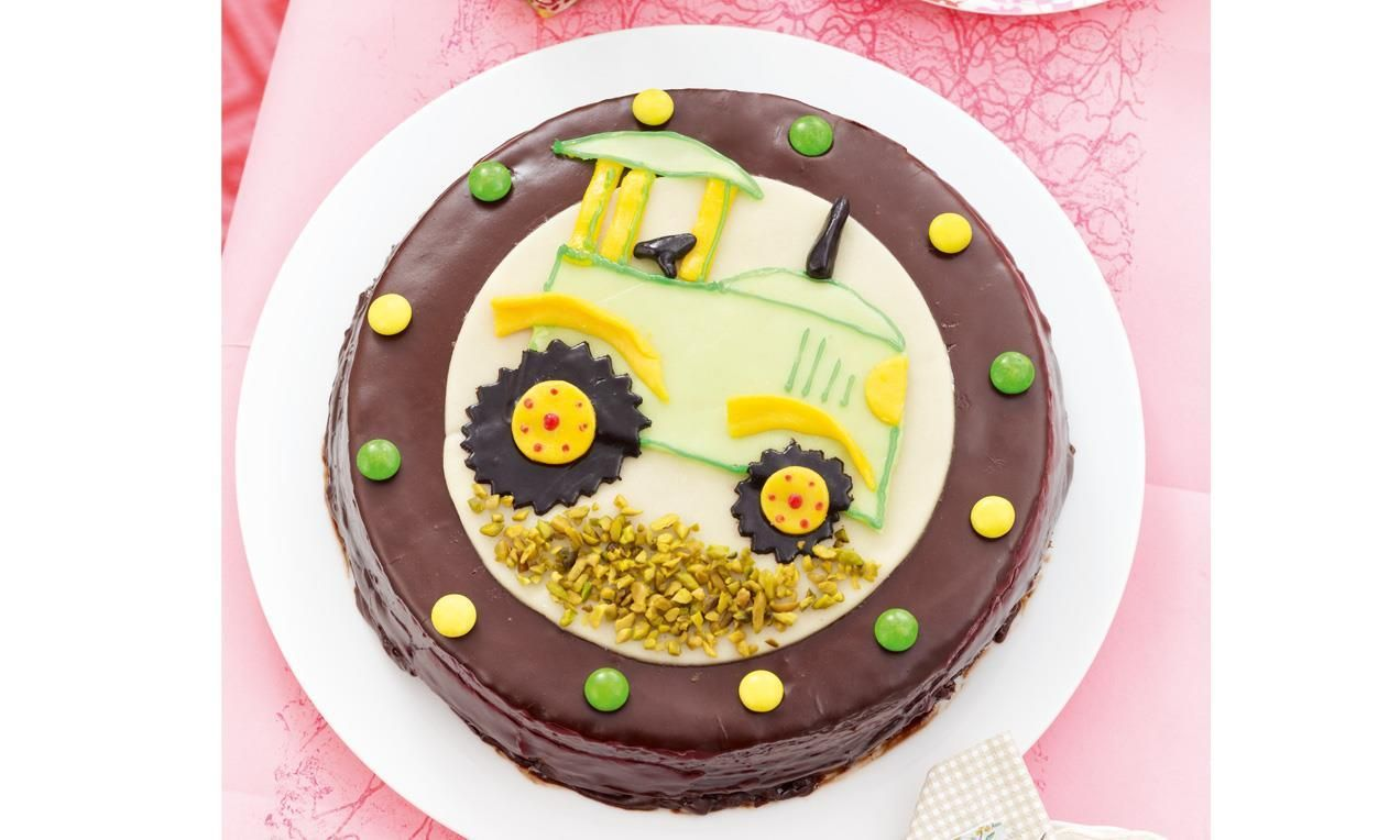 Traktor Geburtstagstorte Rezept Dr Oetker Eselfest