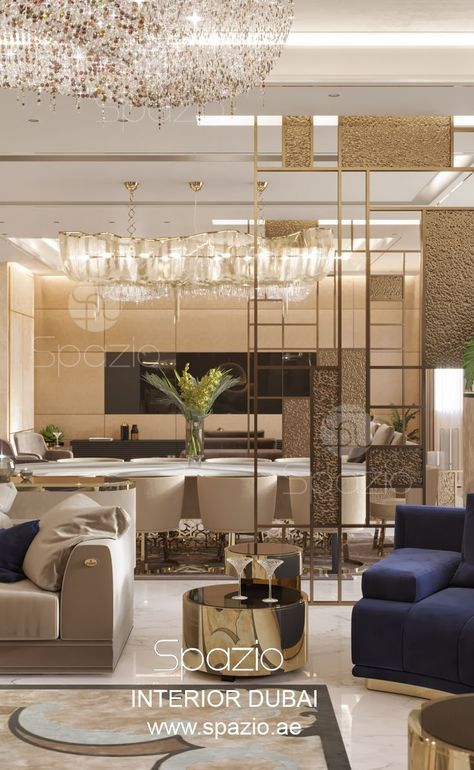 Modern Apartment Interior Design In Dubai Spazio
