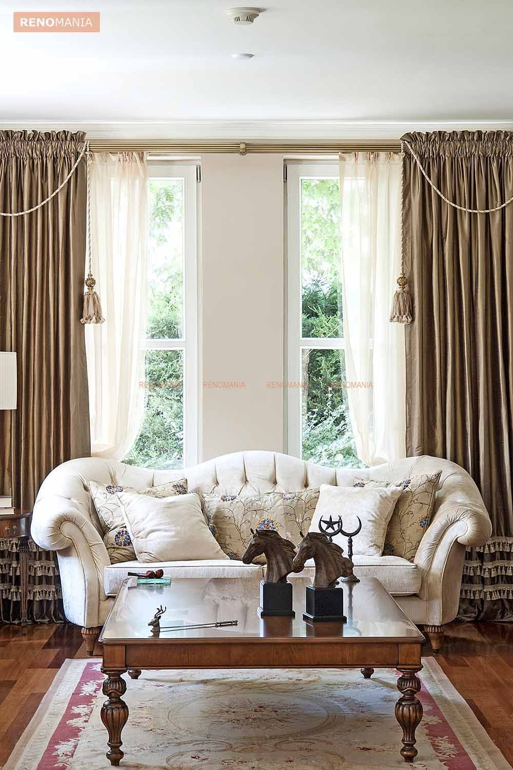 Renomania Blog Make Your Living Beautiful CurtainsLiving Room Curtains