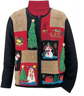 Ugly Christmas sweater with laser cat. | Silhouette Projects ...