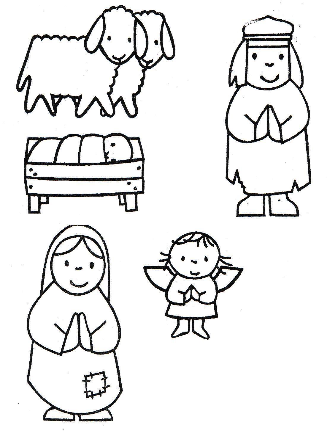 Kerststal Figuren Kleurplaten.Specifieke Onderwijsbehoeften Van Kleuters Jufels1 Yurls