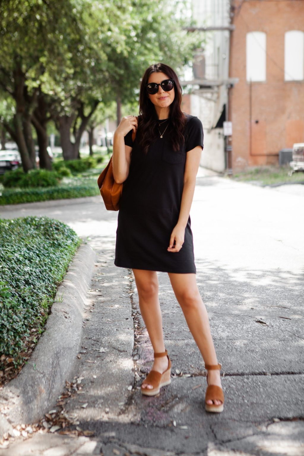 The Perfect T-Shirt Dress   Kendi Everyday
