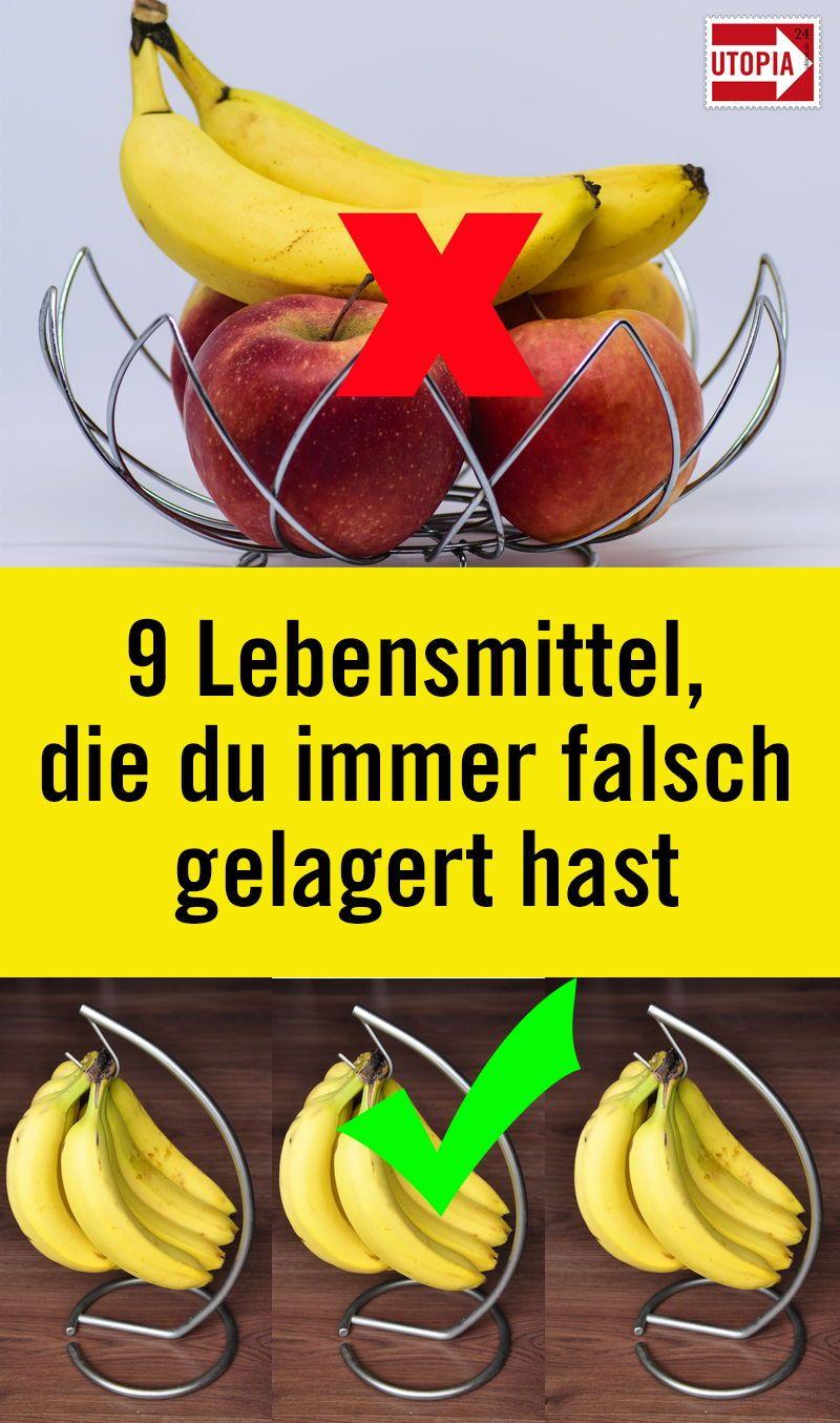 10 Lebensmittel Die Du Immer Falsch Gelagert Hast Utopia De Lebensmittel Aufbewahrung Lebensmittel Lebensmittel Essen