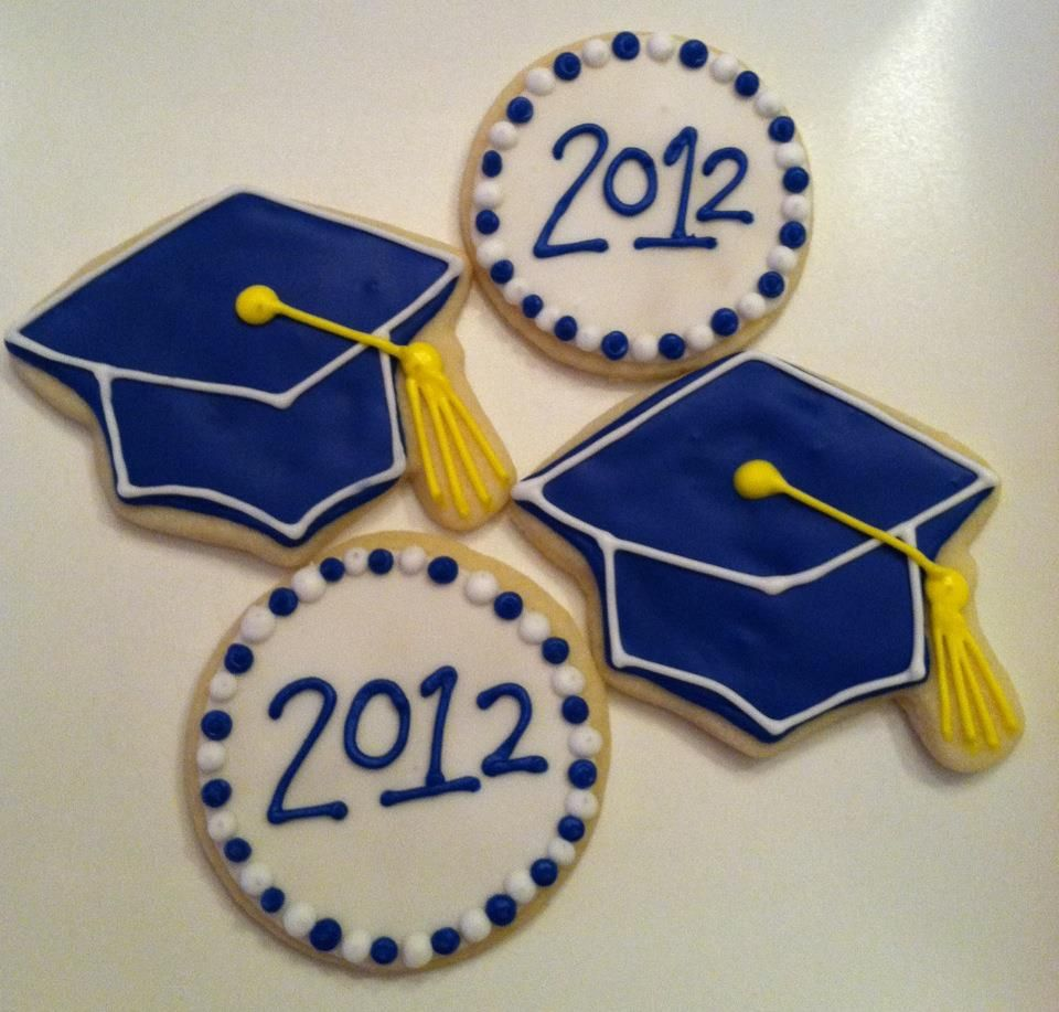 Graduation Cookies - Class of 2012!