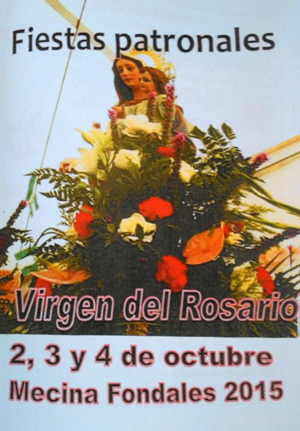 Mecina Fondales (Fiestas en honor a la Virgen del Rosario) | Publicaciones I Love Alpujarra