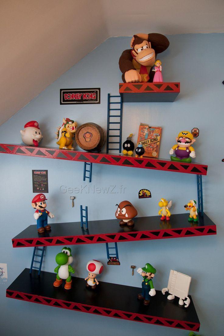 Geek Baby Nursery Decor Nintendo Decals for your kids room